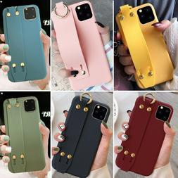 Iphone 11 Pro Max 8 Plus XS Max XR Cute Solid Strap Girls Wo