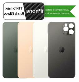 Apple iPhone 11 Pro Max Back Glass Replacement Battery Cover