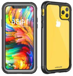 iPhone 11 Pro Max Case, 360° Full Body Protective Shockproo