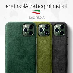 Iphone 11 Pro Max Case Alcantara Hand Crafted Suede Business