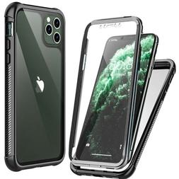 For iPhone 11 Pro Max X XS XR Case Clear Full body Cover w/t