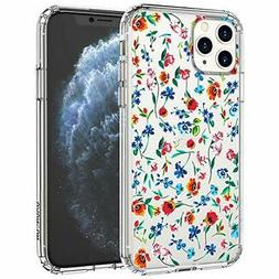 MOSNOVO iPhone 11 Pro Max Case, Wildflower Floral Flower Cle