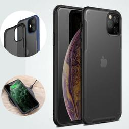 For iPhone 11 Pro Max Rugged Matte Clear Case Mosafe Shockpr