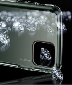 For iPhone 11 Pro Max Crystal Clear Case&Anti-Spy Privacy Sc
