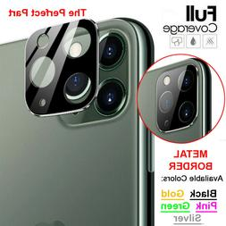 For iPhone 11 Pro Max FULL COVER 20D Tempered Glass Camera L