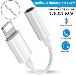 For iPhone 11 Pro Max Lightning to 3.5mm AUX Headphone Jack