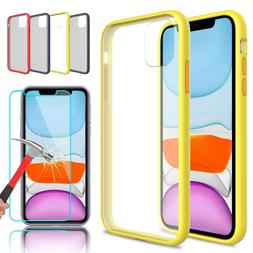 For iPhone 11 Pro Max Shockproof Slim Protective Back Case W