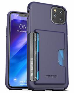 iPhone 11 Pro Max  Wallet Case Durable Cover with Credit Car