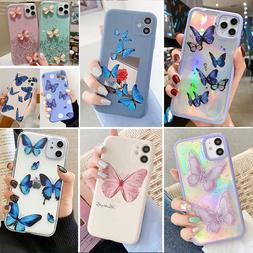 For iPhone 11 Pro Max, X/XR/Xs Max, 7/8+, SE2 Butterfly Soft