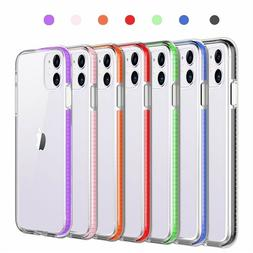For iPhone 11 Pro Max XR XS 8 7 6 Plus Clear Shockproof Hybr