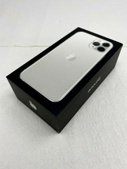iPhone 11 pro Silver BOX ONLY - Empty Box with MANUAL 100% A
