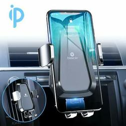 For iPhone 11 Pro Xs Max Xs Xr 8 8 Plus Wireless Car Charger