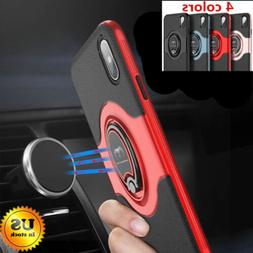 For iPhone 11 Pro Max X 6 6S 7 8 Plus SE2 Ring Protective Ru