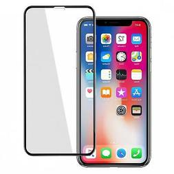 For iPHONE X / XS - TEMPERED GLASS SCREEN PROTECTOR 5D CURVE
