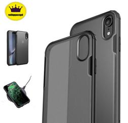 For iPhone XR XS Max X Case 11 Pro Shockproof Clear Transpar