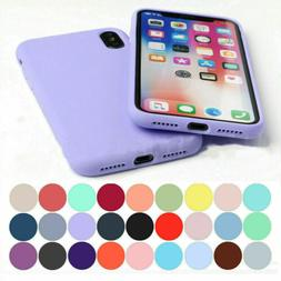 For iPhone11 Pro Max XS 8 7+ Shockproof Slim Soft Silicone P