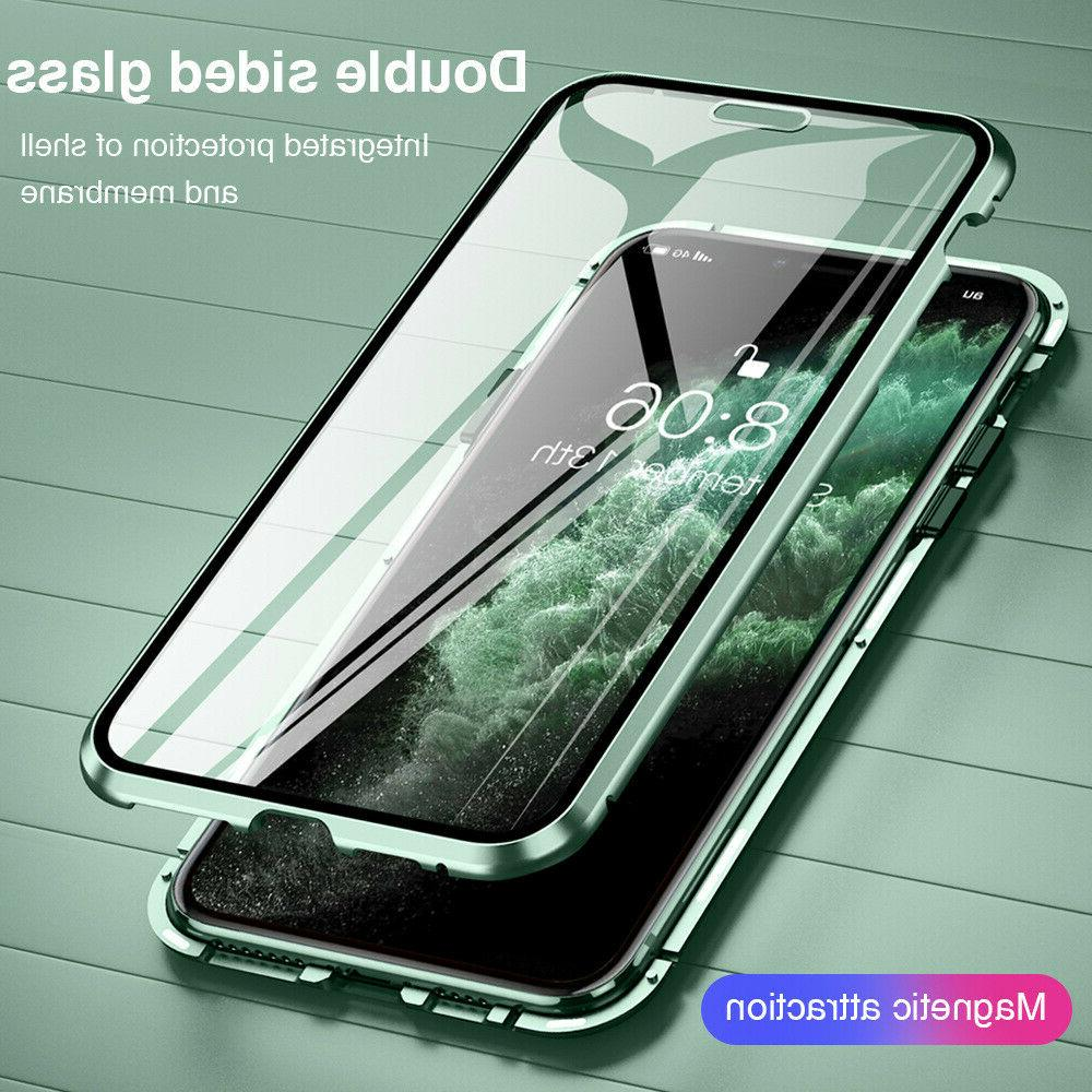 360° Case 11 XR X Magnetic Tempered Glass Cover