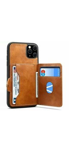 IPhone 11 Pro Wallet Case With Card Slots,Leather Kickstand