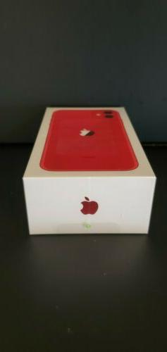 Apple iPhone 11 RED - 256GB  A2111