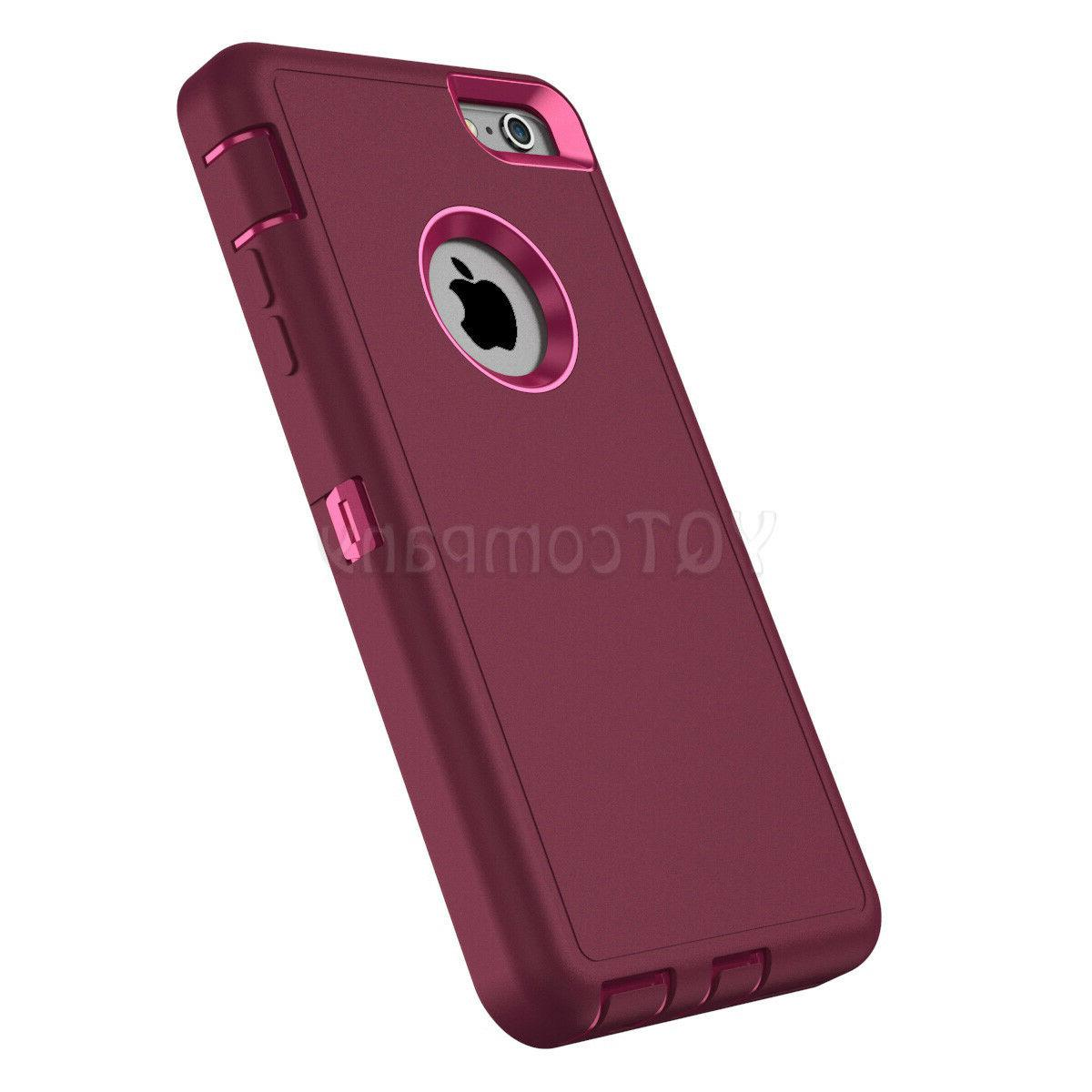 For 11 Pro 6 7 8 XS Max XR X Case Heavy Duty Shockproof Rubber