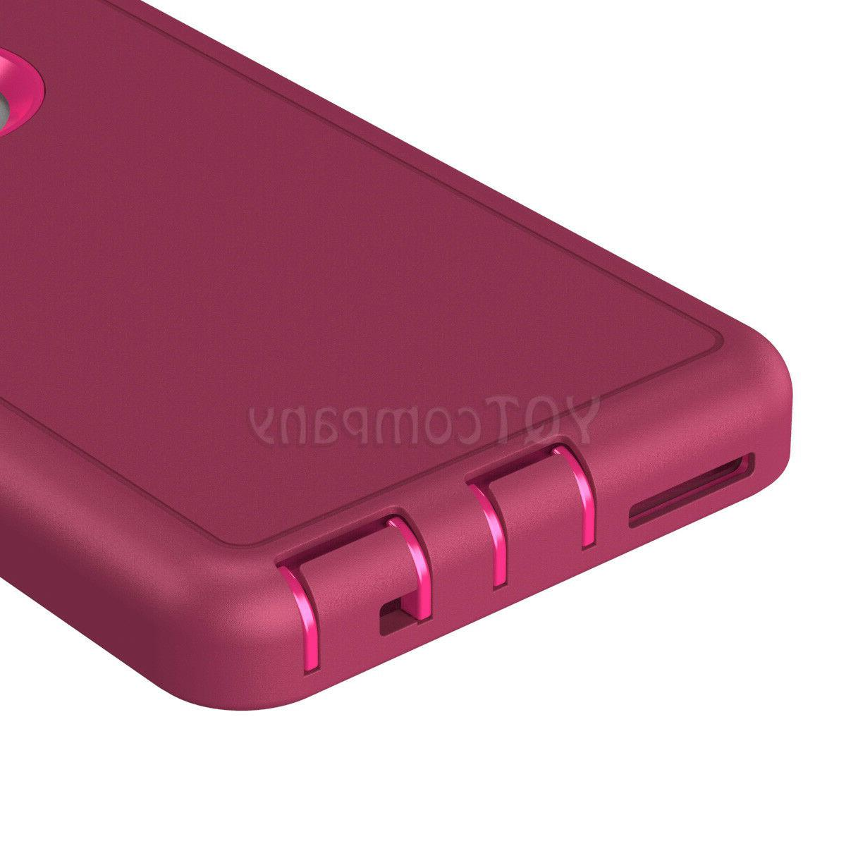 For iPhone 6 XS Max XR X Case Duty Rubber