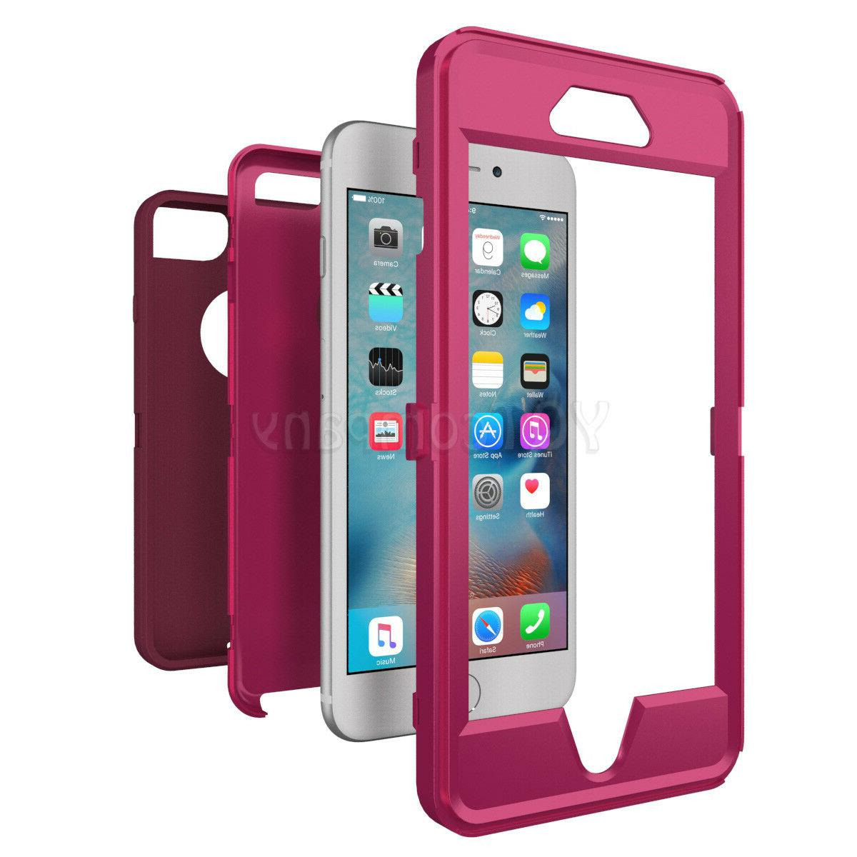 For iPhone 11 6 7 XS Case Duty Shockproof Rubber