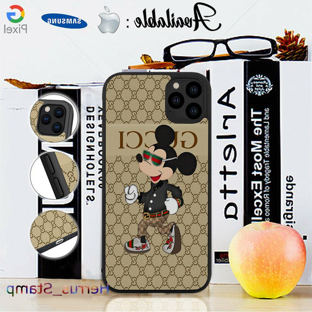 pattern mickey mouse 1gucci gg cover case