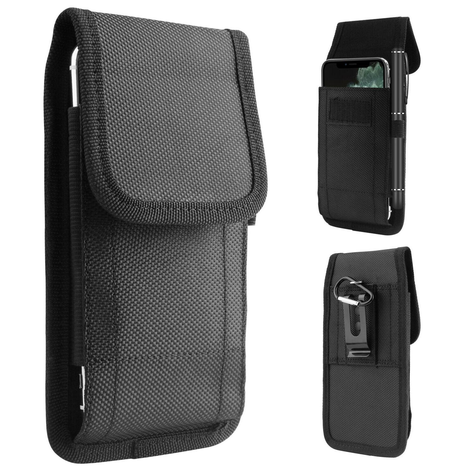 Cell Phone Holster Pouch Waist Card Holder Case With Belt Cl
