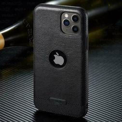Leather Case for Iphone 11 Pro and Pro Max With FREE SCREEN