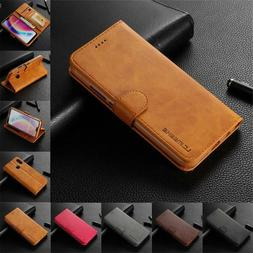 Luxury Stand Magnetic Wallet Leather Flip Case Cover For Pho