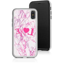 Marble Shockproof Hard Case Protector For Apple iPhone Love