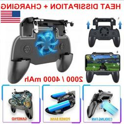 For Mobile Phone PUBG Game Pad Controller Gamepad Holder wit