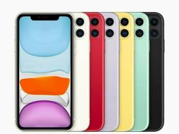 NEW Apple iPhone 11- 128GB All Colors - AND 2 years UNLIMITE