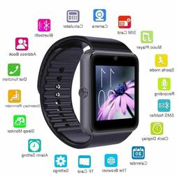 NEW SMART WATCH WITH MIC CAMERA TEXT CALL FOR SAMSUNG IPHONE
