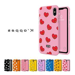 Official BT21 Color Jelly Phone Case Cover  For iPhone Samsu