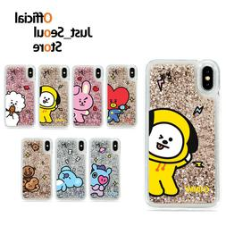 Official BTS BT21 Glitter Phone Case Cover Comic Series+Free
