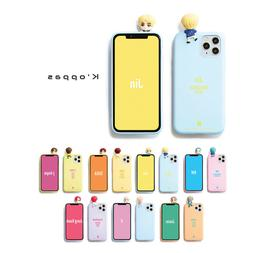 Official BTS Figure Color Soft Jelly Phone Case Cover 2nd Ve