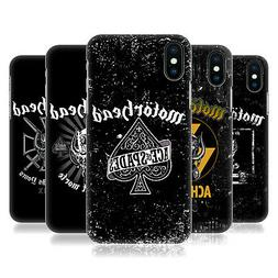 OFFICIAL MOTORHEAD LOGO BACK CASE FOR APPLE iPHONE PHONES