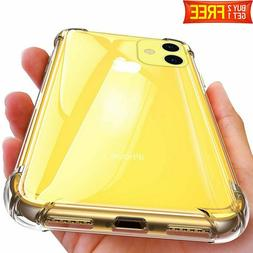 Case For iPhone 11 Pro Max XR XS MAX Clear Crystal Protectiv