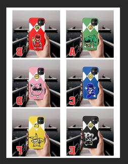 Power Rangers Pokemon Phone Case