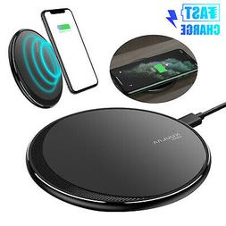 Qi Wireless Charging Dock Charger Pad Mat For Cell Phone iPh