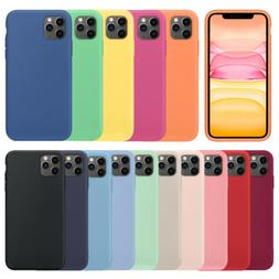 Silicone Case For iPhone 11, 11 Pro, 11 Pro Max XS Shockproo