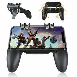 Six-Finger Shooting Game Controller Adjustable Triggers Game