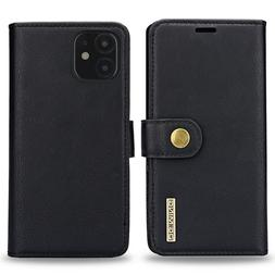 Slim iPhone 11 Pro Max Flip Case Wallet Cover with Card Hold