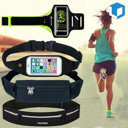 Sport Armband Gym Running Jogging Case Holder Waist Belt Bum