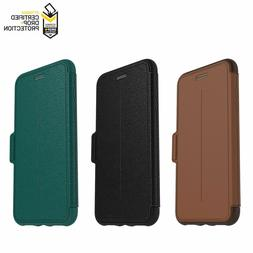 OtterBox STRADA Leather Wallet Case Galaxy iPhone 7 8 9 10 X