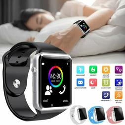 Touch Bluetooth Smart Watch For iPhone 11 Pro Xs X 8 Plus Sa