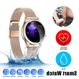 Touch Smart Watch Women Heart Rate Step Bracelet For iPhone