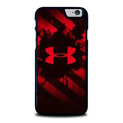 UNDER ARMOUR RED iPhone 4 4S 5 5S 5C 6 6S 7 8 Plus X XS Max