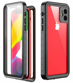Waterproof Case for iPhone 11 6.1 Inch 2019 Full-Body Rugged